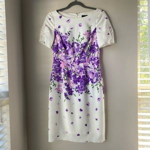 Adrianna Papell Floral Pencil Dress!!